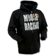 Black Gothic Zip Hoody