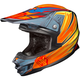 Hi-Viz Yellow/Red/Blue MC-3H FG-X Legendary Lucha Helmet
