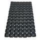Super Lite +Plus Single Backing Plates - 2462-P8-BLK