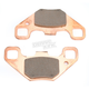 Front Long Life Sintered R Brake Pads - FA490R