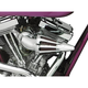 Bullet Air Cleaner Kit-Chrome Elbow - TS-7900-BCHA