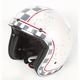 White MCQ FX-76 Helmet