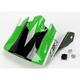 Green Visor for Z1R Roost Volt Helmets - 0132-0587