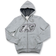 Youth Heather Gray Rider Hoody (Non-Current)