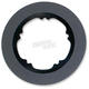 300mm Front Anodized Black Lug-Drive Brake Rotor - NVLD-300FBVROA