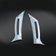 Chrome Fairing Intake Scoops - 3904