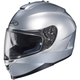 Metallic Silver IS-17 Helmet