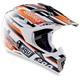 Black/Orange MT-X Helmet