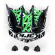 White/Purple/Green Visor for HJC CL-XY  Fuze Youth Helmet - 272-949
