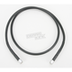 44 in. Black Vinyl-Coated Stainless Steel Brake Line - 1741-2725