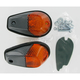 Flush Mount Marker Lights - Dual Filament - 25-8148