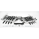Fat Series 1 1/2 in. Alloy Nerf Bars w/Black Webbing - 602-6140
