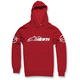 Red Recognized Pullover Hoody