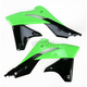 Green/Black 13 Radiator Shrouds - 2314161089