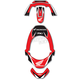 Honda Leatt Brace Sticker Kit - 12-59300