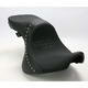 Studded Weekday 2-Up XL Seat without Driver Backrest Receptacle - YMC-311-01-01