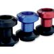 Blue 8mm D Axis Spools - DXS-8.1-BK