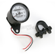 1:1 Ratio White Faced Mini Mechanical Speedometers With Black Housing - 2210-0256