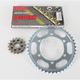 GB530GXW Chain and Sprocket Kit - 4102-010WG