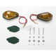 Single Filament Tear Drop Marker Lights w/Smoke Lens - 25-8138