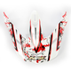 Multi Red FX19 Visor - 0132-0712
