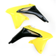 Yellow/Black Radiator Shrouds - 2113861017