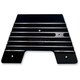 Gloss Black Finned Firewall Plate - C1340-B