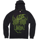 Black Shady Zip Hoody