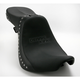 Studded Weekday 2-Up XL Seat w/Driver Backrest Receptacle - YMC-622-01-01