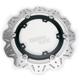 Front Black Vee Brake Rotor - VR817BLK