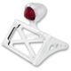 Chrome Taillight License Plate Horizontal Bracket - 0215-2005-CH