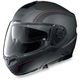 Gray/Black N104 N-Com Modular Helmet