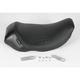 12 in. Wide Bare Bones Carbon Fiber Solo Seat - LH-005-RK-CB