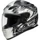 RF-1100 Hadron 2 White/Black/Silver Helmet