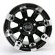 Black 393X Cast Aluminum ATV/UTV Wheel - 0230-0524