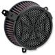 Black Cross Air Cleaner Kit - 606-0100-02B