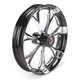 Front Platinum Cut 21 x 3.5 Paramount One-Piece Chrome-Forged Aluminum Wheel - 12047106PARJBMP