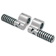 Chrome Clamp-On Footpegs - 810