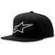 Black Crisscross Hat - 1013-8505110