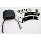 Complete Backrest/Mount Kit with Small Steel Backrest - 34-2105-01