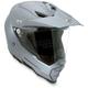Titanium Gray AX8 Dual Sport Evo Helmet