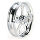 Front 16 in. x 3.5 in. Nitro One-Piece Forged Aluminum Chrome Wheel - 16350-9916-92C