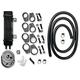 SlimLine 6-Row Vertical Frame-Mount Oil Cooler Kit - 750-1200