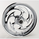 Front Chrome 16 x 3.5 Savage One-Piece Wheel - 16350-9916-85C