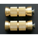 2 1/4 in. Brass Knurled Grooved Shifter/Brake Pegs - PT220-KG5