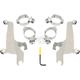Polished No-Tool Trigger-Lock Sportshield Mounting Kit - MEK1988
