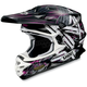Black/White/Purple VFX-W Crosshair Helmet