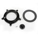 Black Turbine Venturi Faceplate Kit - 0206-2053-B