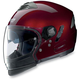 Metallic Wine N43ET Trilogy N-Com Helmet