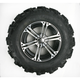 Rear Left Mud Lite XTR Tire/SS212 Alloy Machined Wheel Kit - 43176L